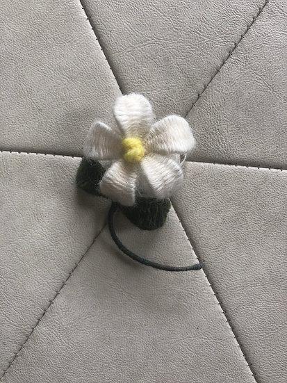 Woven Wool Single Flower