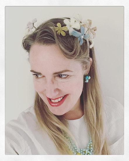 Handwoven Floral Headband