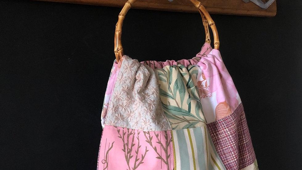 Large patchwork bag