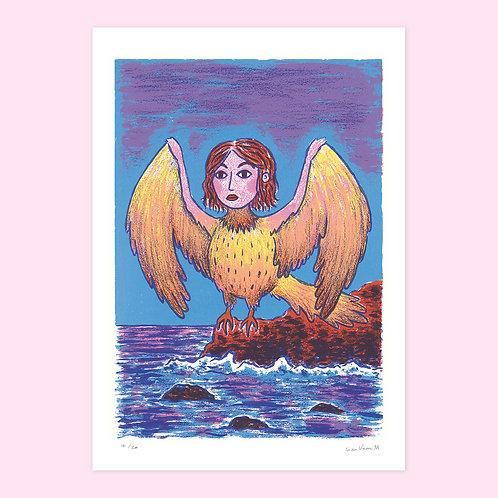 Harpy Screen Print