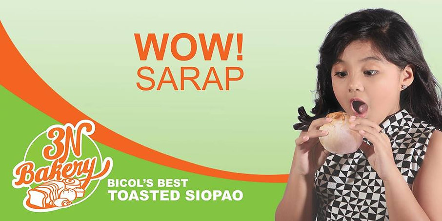3N BAKERY Bicols Best Toasted Siopao Ima