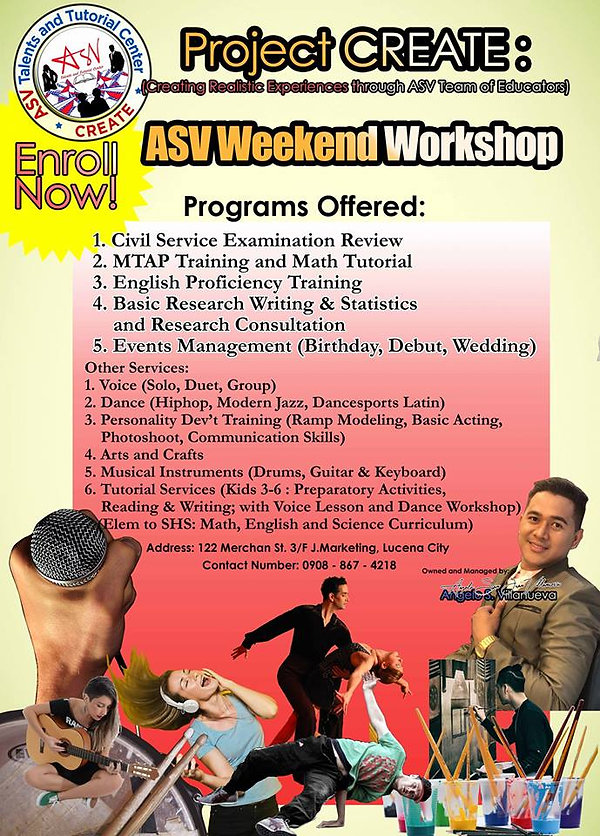 ASV Talents and Tutorial Center Image 1.