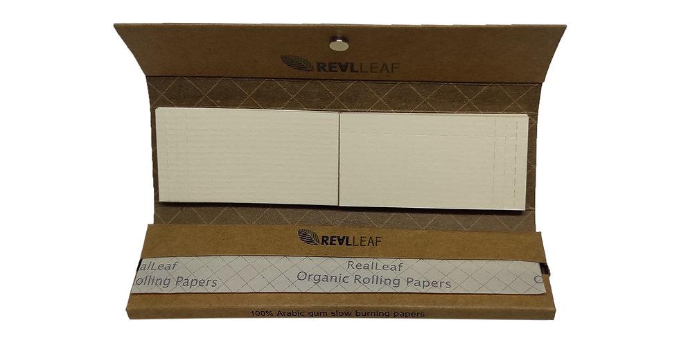 ניירות גלגול טבעי RealLeaf