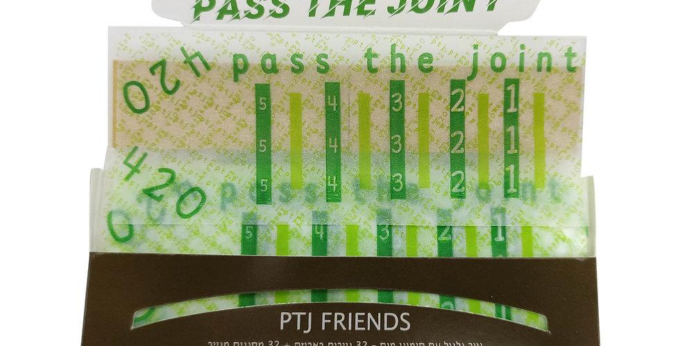נייר גלגול סיגריות טבעי ושיתופי קינג סייז - PTJ Friends