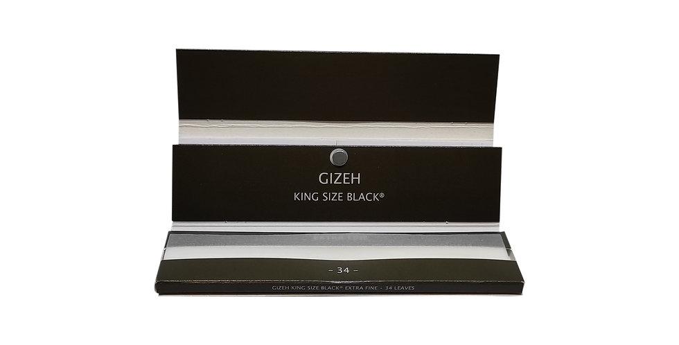 Gizeh king size black