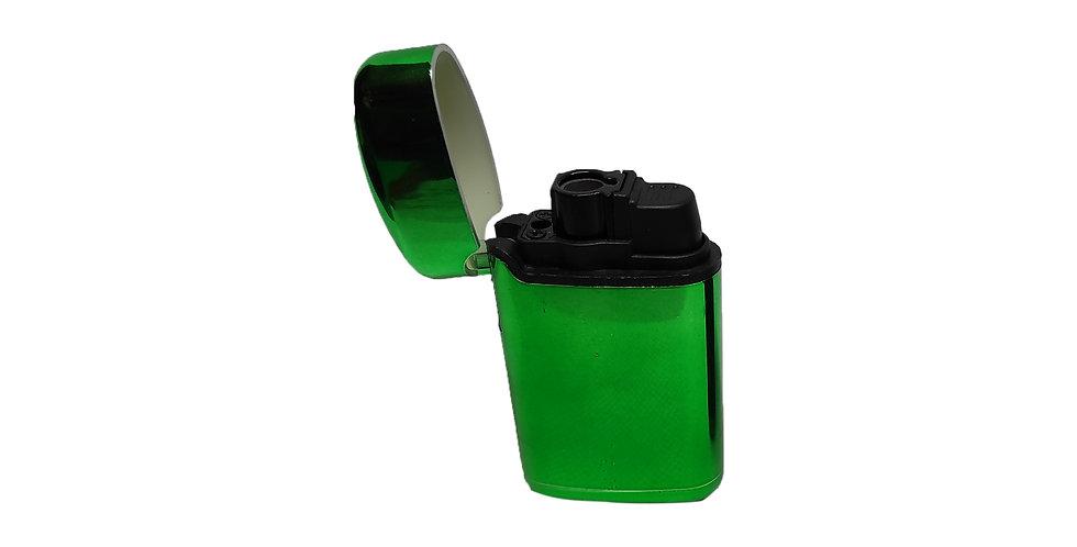 מצית טורבו ירוקה