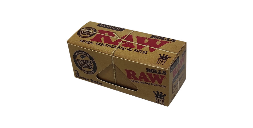 raw rolls נייר גלגול unrefined hemp