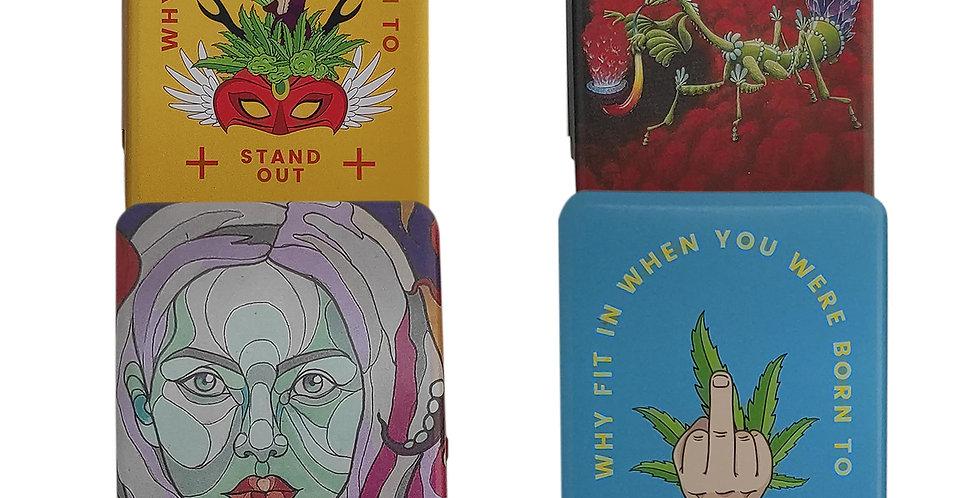 קופסאות אחסון ממתכת במגוון עיצובים