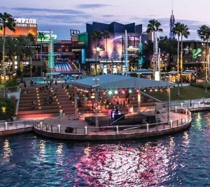 Citywalk Waterfront Stage - Orlando