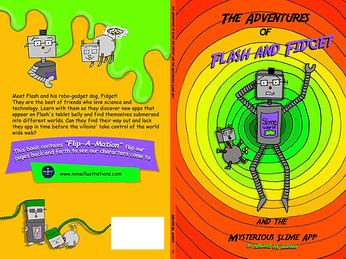 Adventurs of Flash and Fidget - Autographed Autographed BUNDLE