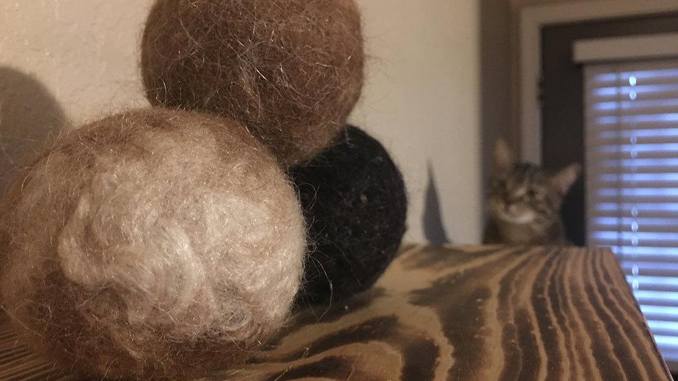 3 Alpaca Dryer Balls