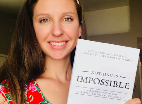 """Nothing Is Impossible""                    (The story behind the book)"