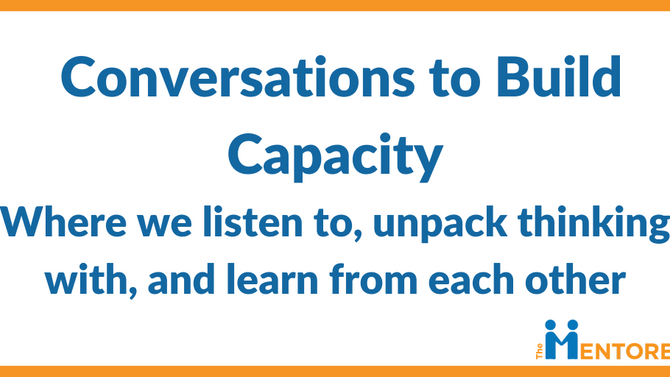 Why Conversations Build Capacity
