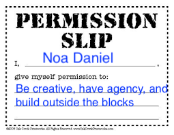 Agency and Creativity- Giving Yourself Permission