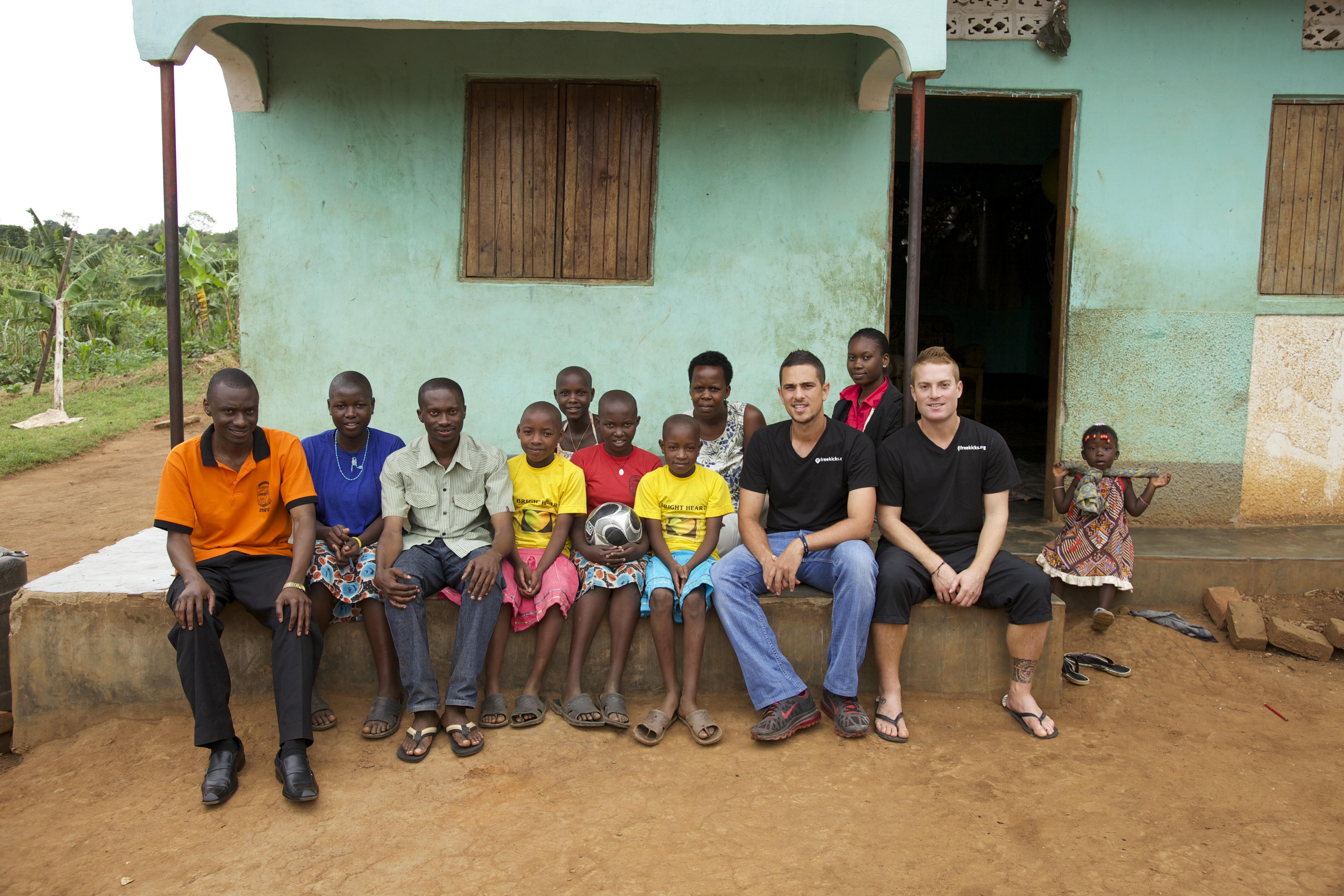 Visit at the Bright Hearts Orphanage
