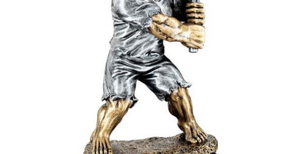 TENNIS 'BEASTS' FIGURE TROPHY - 6.75in