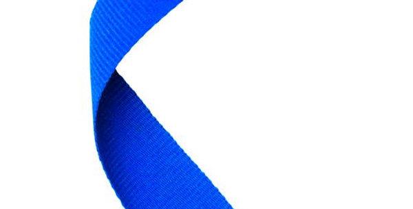 MEDAL RIBBON ROYAL BLUE - 30 X 0.875in
