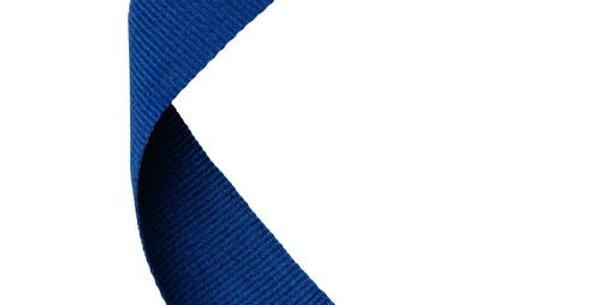 MEDAL RIBBON NAVY BLUE - 30 X 0.875in
