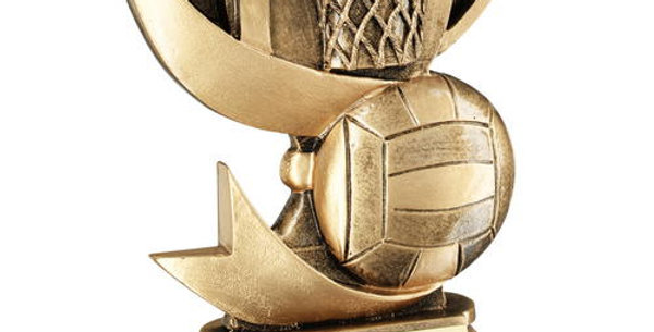 BRZ/GOLD CUP RANGE FOR NETBALL TROPHY