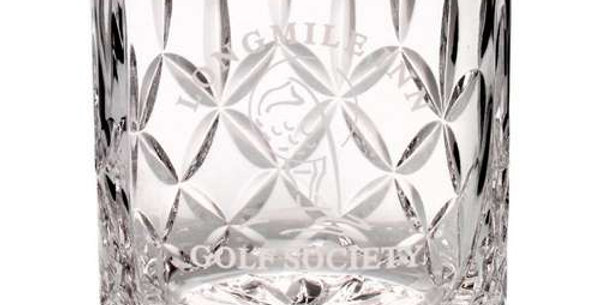 405ML WHISKEY GLASS - BLANK PANEL 4in