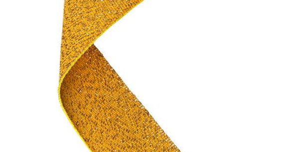 MEDAL RIBBON GOLD - 30 X 0.875in