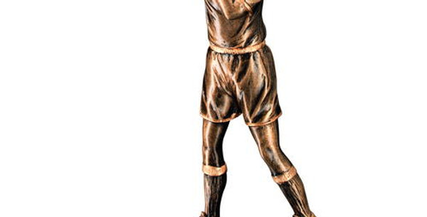 BRZ/GOLD RESIN REFEREE FIGURE TROPHY - 6.75in
