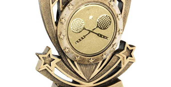 SHOOTING STAR SERIES WITH SQUASH INSERT TROPHY