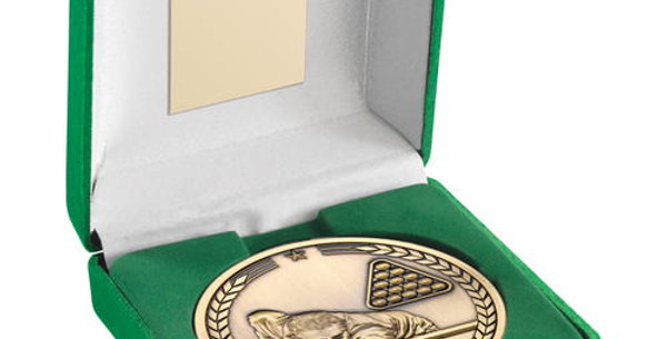 GREEN BOX AND 70mm MEDALLION POOL/SNOOKER