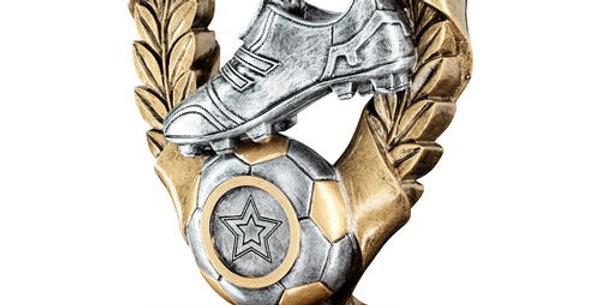 FOOTBALL 3 STAR WREATH AWARD TROPHY