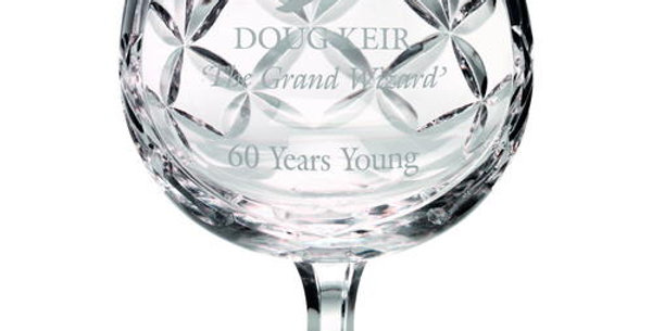 290ML BRANDY GLASS - BLANK PANEL 4.75in