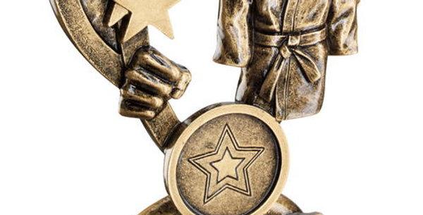 BRZ/GOLD MARTIAL ARTS MINI CUP TROPHY