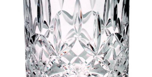 405ML WHISKEY GLASS - FULLY CUT 4in
