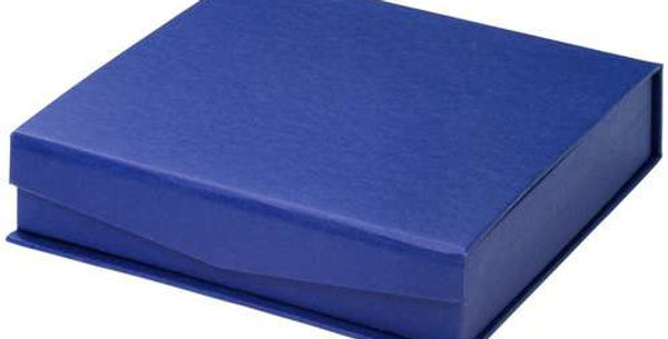 BLUE PRESENTATION BOX FOR SALVERS - FITS 10in SALVER