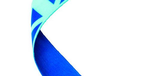 MEDAL RIBBON SCOTTISH FLAG - 30 X 0.875in
