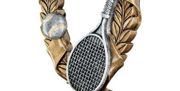 TENNIS 3 STAR WREATH AWARD TROPHY