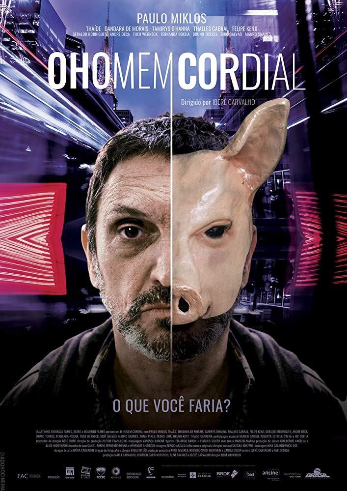 "Sascha Kratzer wins ""Golden Kikito"" at the ""47th Gramado Film Festival"" 2019."