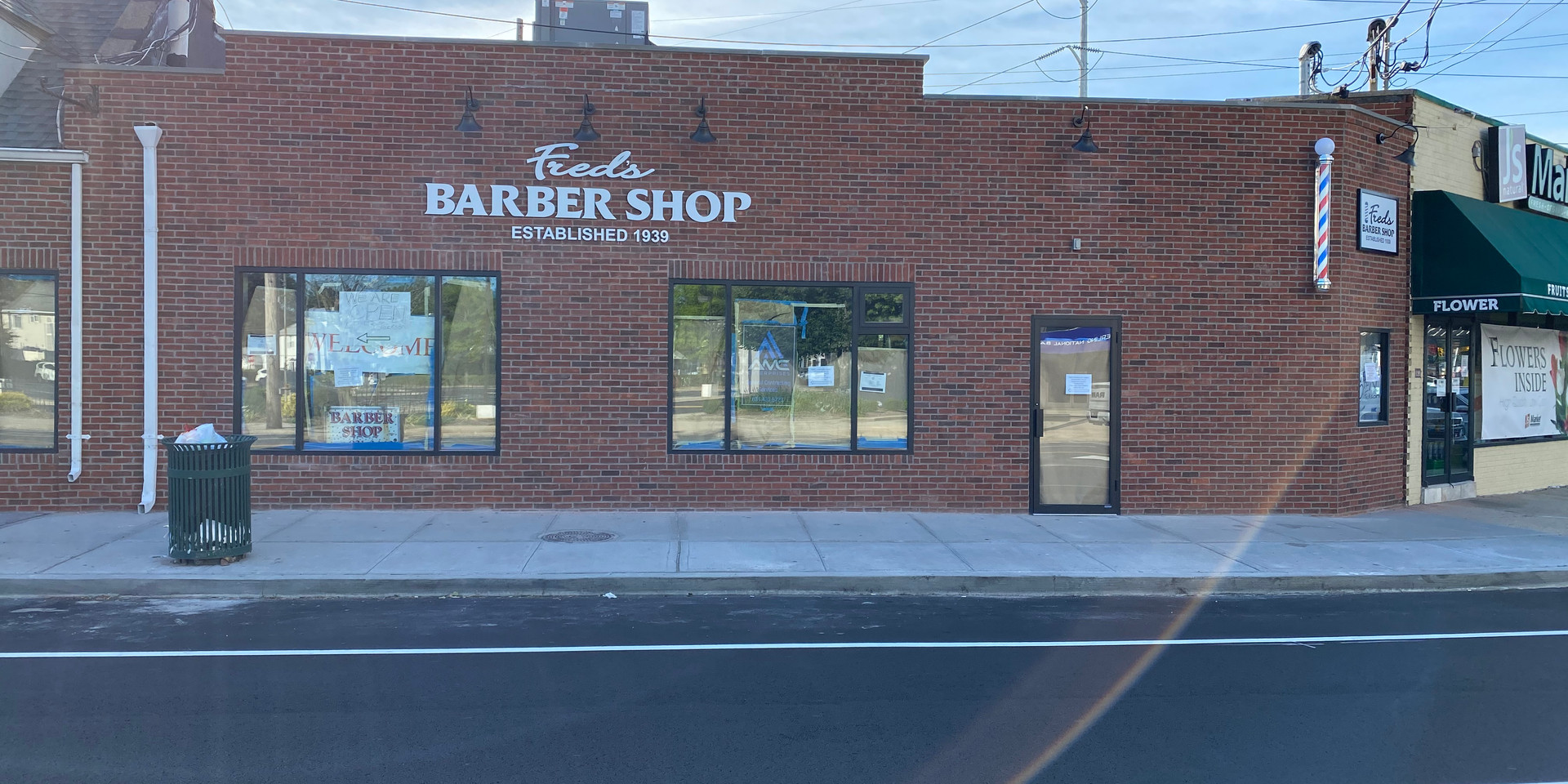 Barbershop Facade After