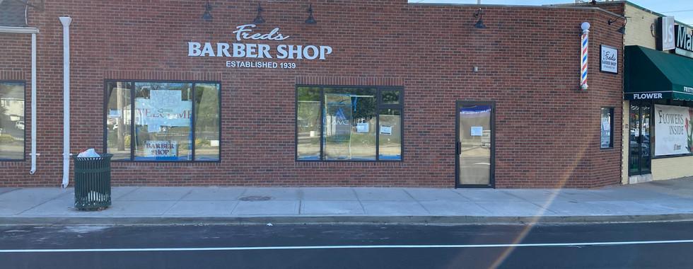 Barbershop Facade After