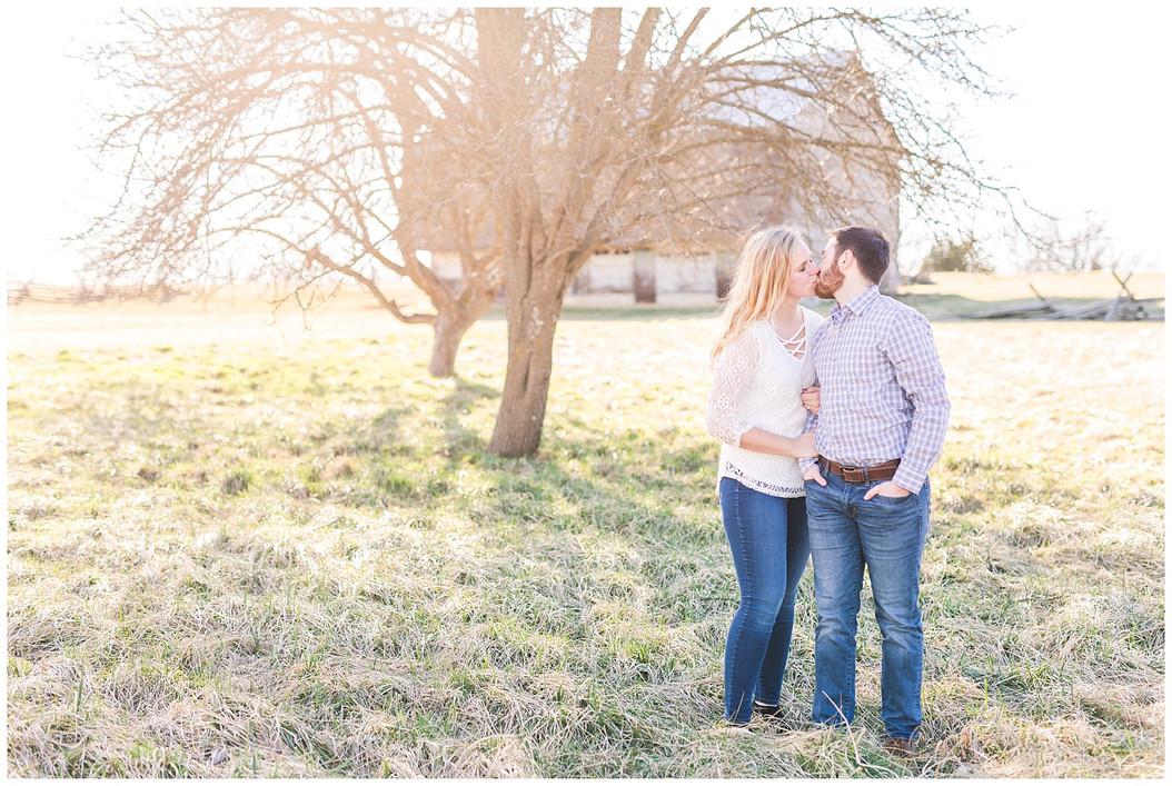 Anna & Chris: A New Market, VA Engagement