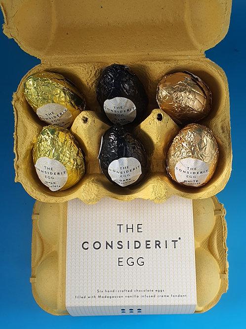 Half Dozen Cream Egg Gift Box -3 Flavours