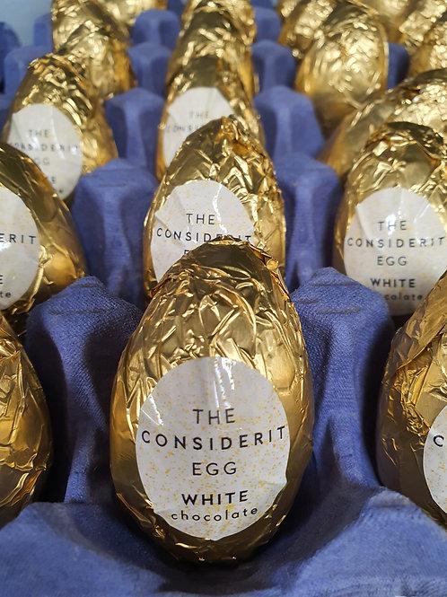 White Chocolate Cream Egg