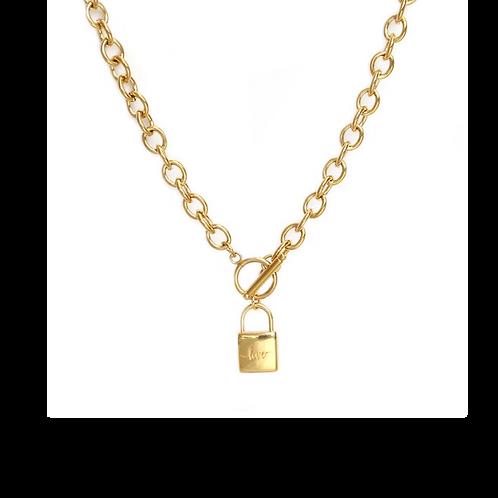 Ketting chain lock