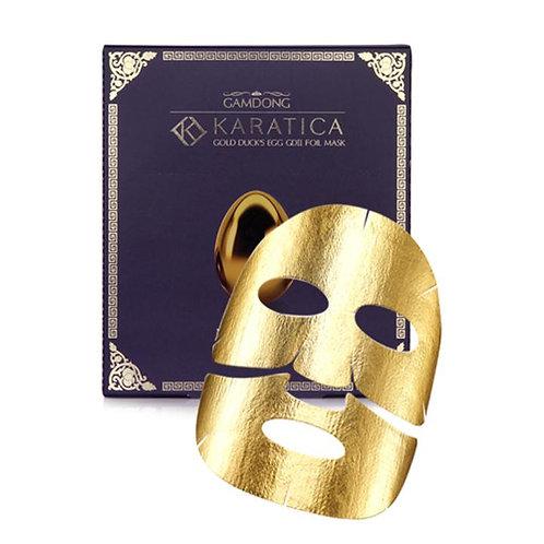 Karatica Gold Duck's Egg Foil Mask (5 pack)