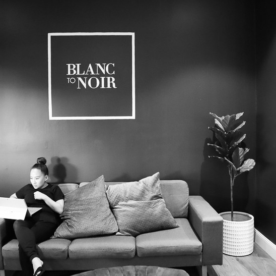 Blanc to Noir
