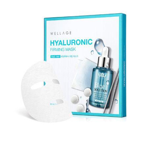 Wellage Hyaluronic Firming Mask (5 PACK)