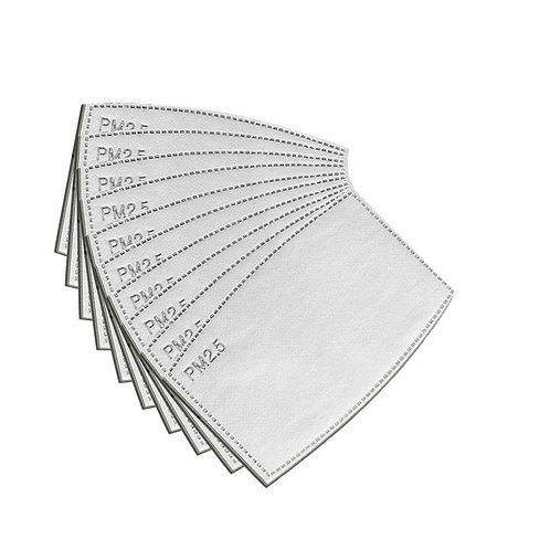 Replacement Filters (10pack) for Washable Mask