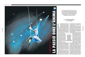 Cirque du Soleil Stelar Andorra AraDiumenge Fotografia Jordi Ferrando i Arrufat Montse Argerich