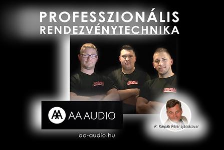 Belépés az aa-audio.hu honlapra