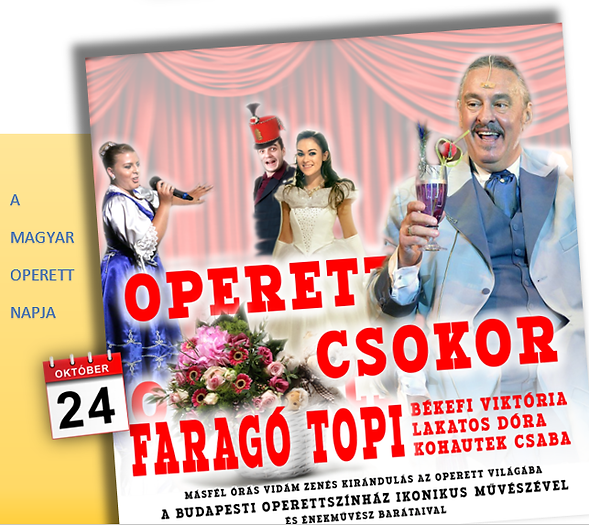 Operettműsor