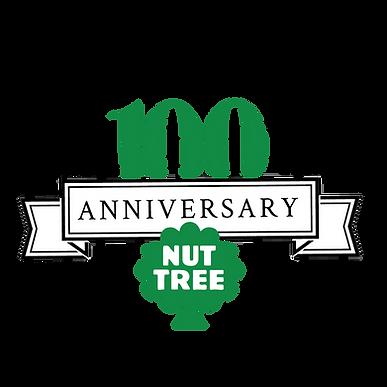 Nut Tree 100th anniversary logo 1921-2021